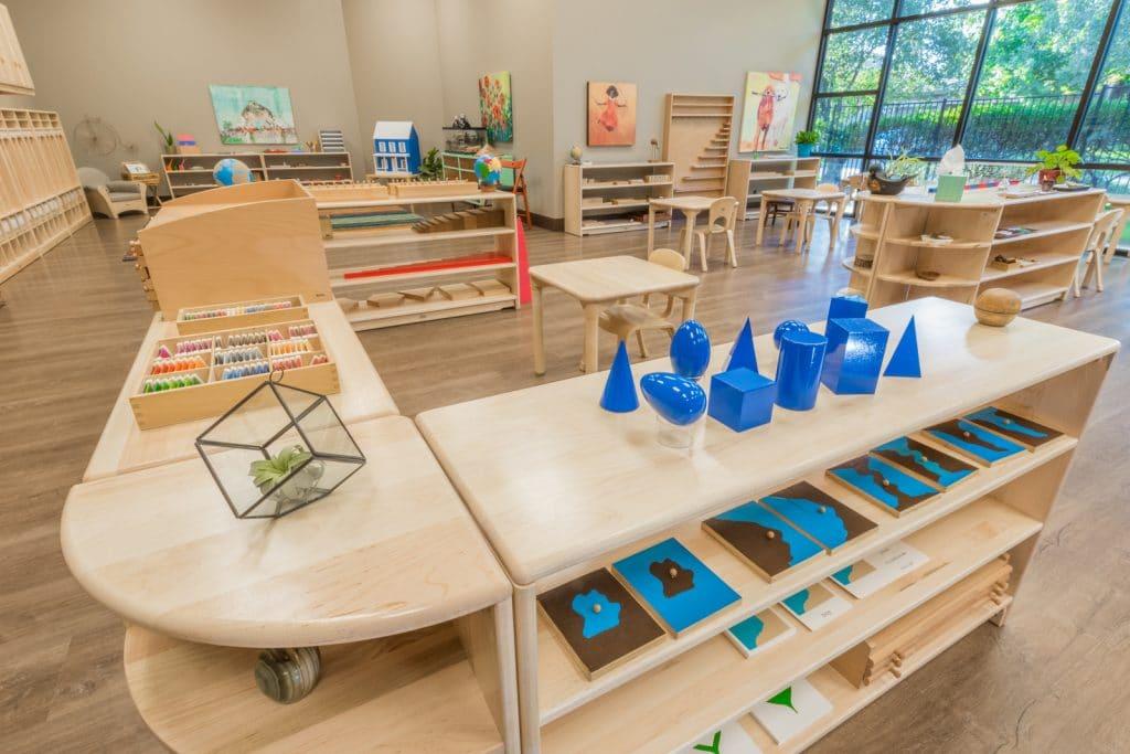 salle de classe montessori