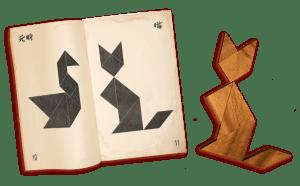 tangram en bois ecole