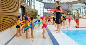 Sortie scolaire à la piscine