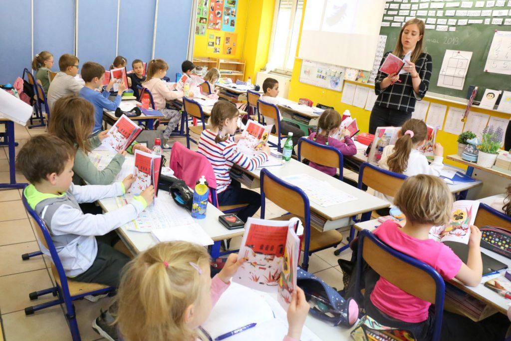 La lecture en classe de CP