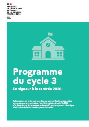 Programme Cycle 3 2020