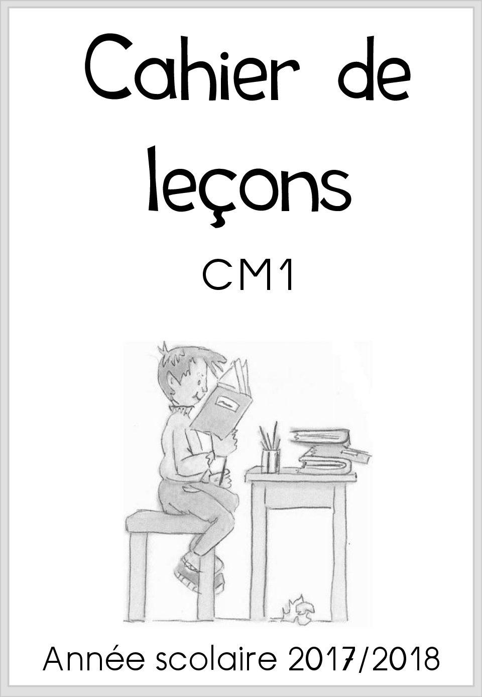 Leçons CM1 Français