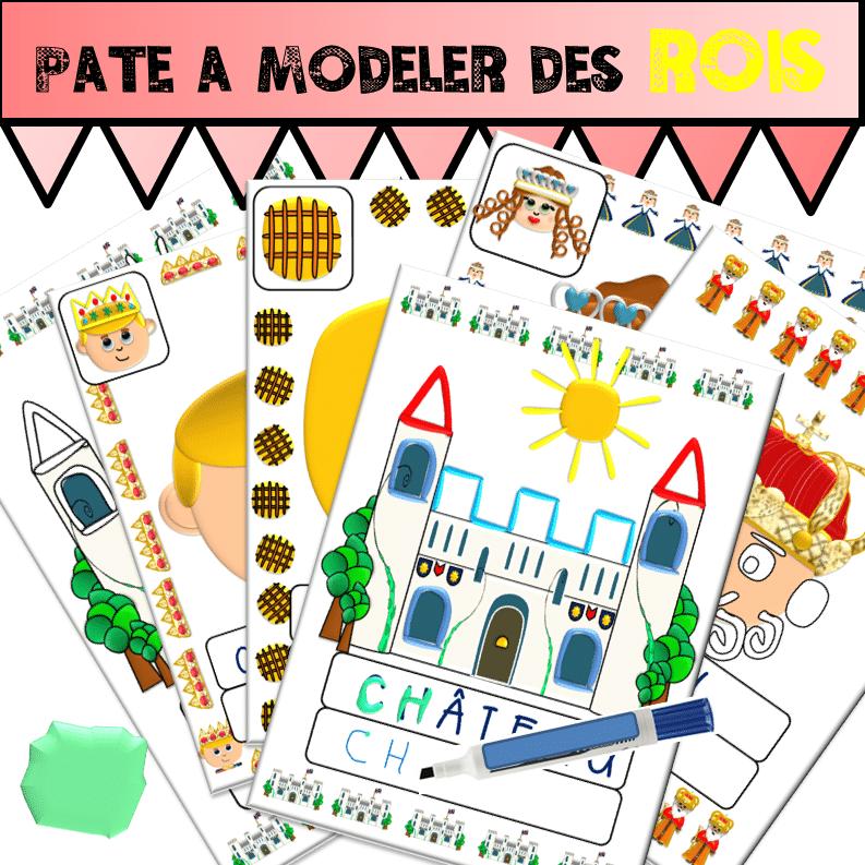 Pâte à modeler des ROIS - Ecriture Grande Section, Maternelle, Moyenne Section, Petite Section ...