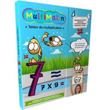 Multimalin : le coffret complet des tables de multiplication