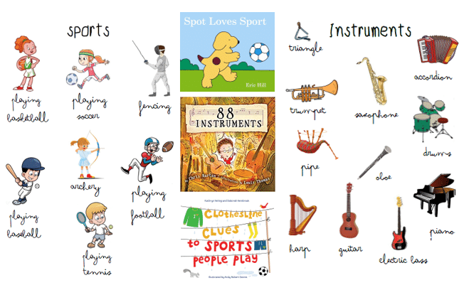 Séquence hobbies (sports and instruments) - Anglais CE1 ...