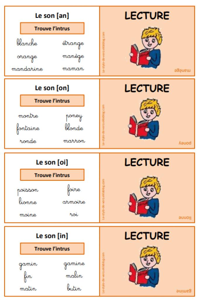 Multi jeu CP : français