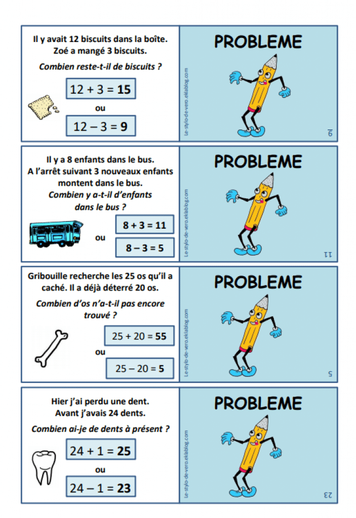 Multijeu CP : maths