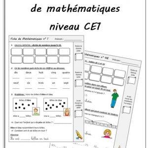 Exercices Maths Ce1 Ressources A Imprimer La Salle Des Maitres