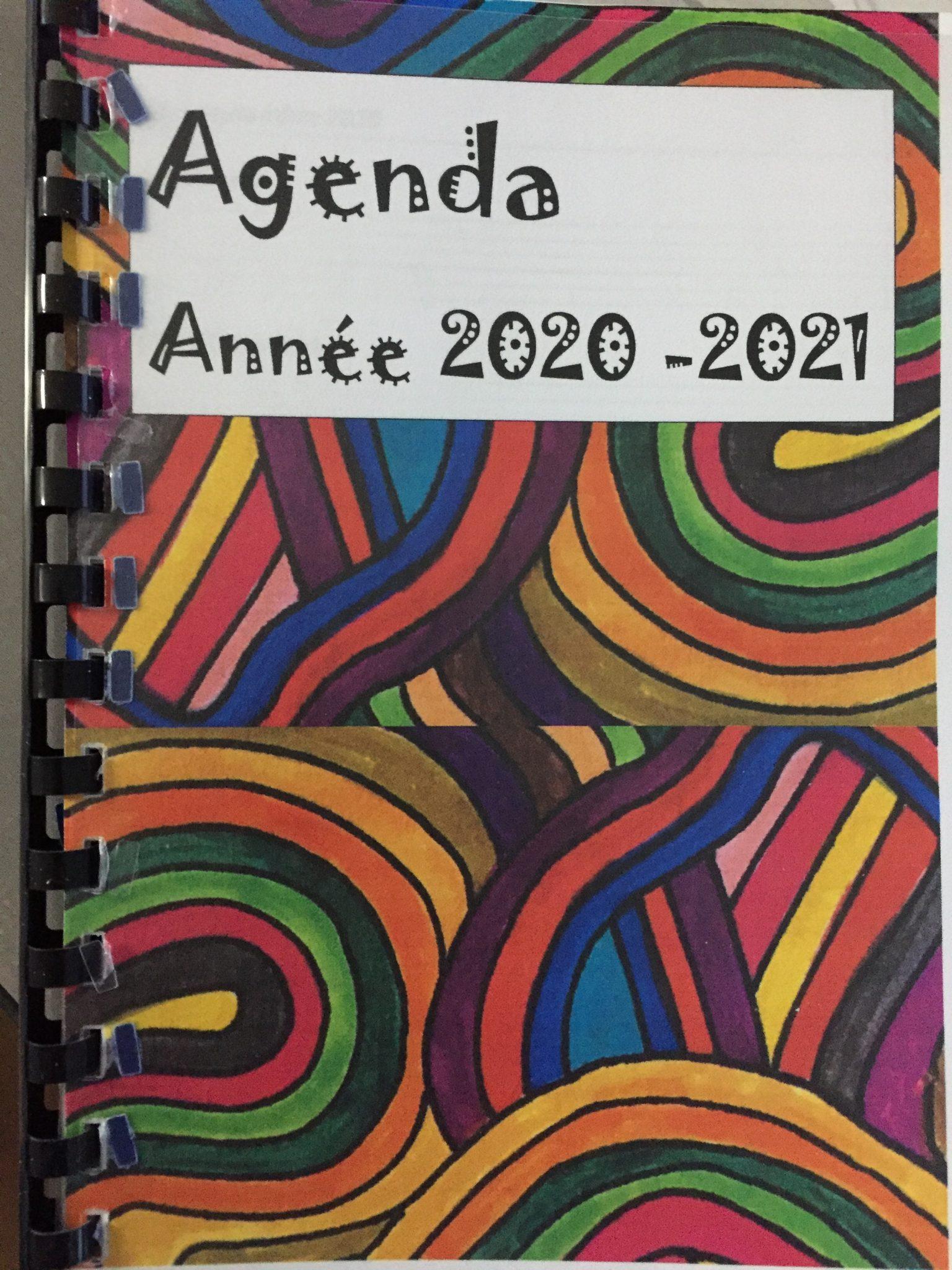 Agenda de l'enseignant