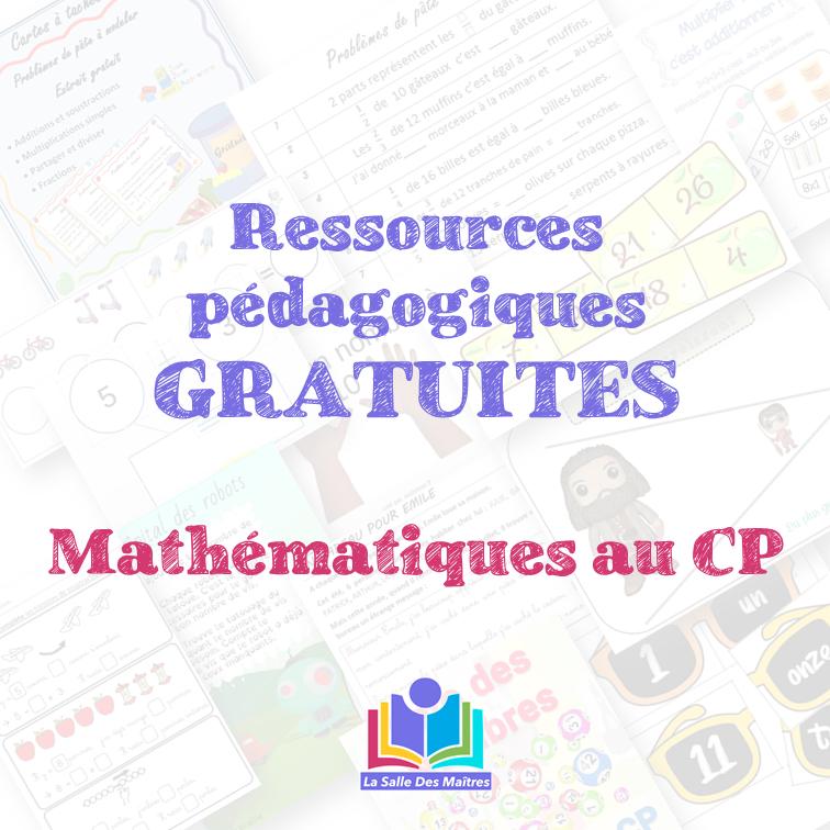 Ressources pédagogiques maths CP