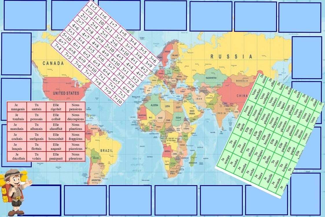 Le tour du monde des connaissances CE1 CE2
