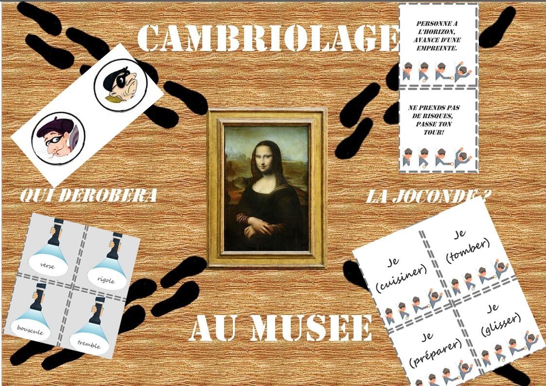 Cambriolage au musée CE1 CE2